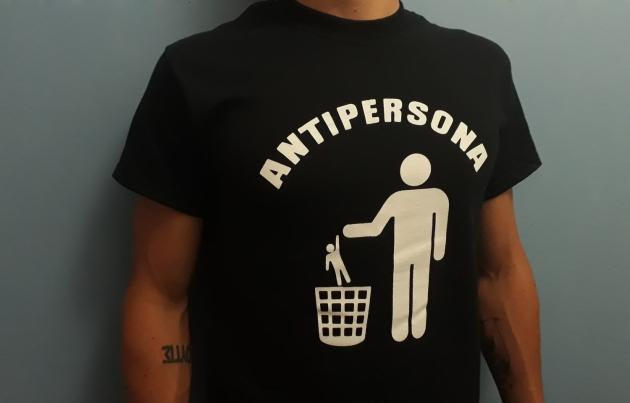 Camiseta ANTIPERSONA 2017