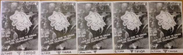 fanzine hiena defunción