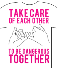 Camiseta Take care